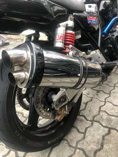 Cb400 blueflame exhaust