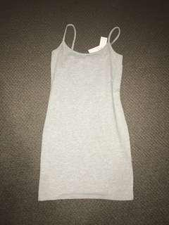 Grey supre dress