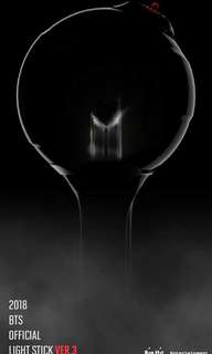 BTS Official Lightstick Ver 3 Army Bomb