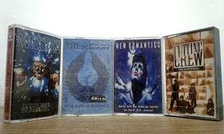 Various cassette kaset