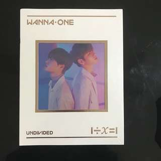 [SEALED] WANNA ONE UNDIVIDED THE HEAL VERSION