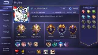 Mobile legends acc
