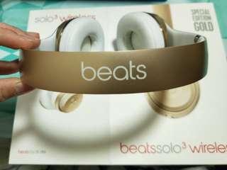 Beatssolo3 wireless /beat3/gold/special editio