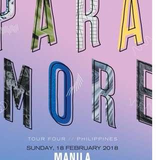 Paramore Ticket Lower Box B 2 tickets @ 9k ea Legit (Selling as pair, total 18k)