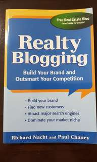 Realty Blogging by Richard Nacht & Paul Chaney