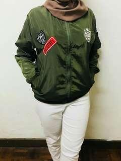 Bomber Jacket army green jacket