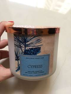 bath&body works home candle
