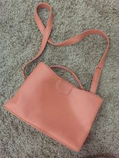 Zada Peach Bag