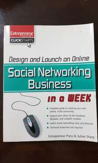 Design and Launch an Online Social Networking Business in a week by Julien Sharp