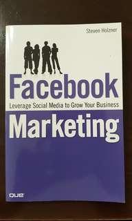 Facebook Marketing by Steven Holzner