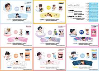 [SG GO] WANNA ONE FANPACK GOODS BY @madeby405found 🌈💗