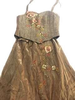Dress pesta 1 set