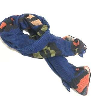 Princess Highway scarf blue