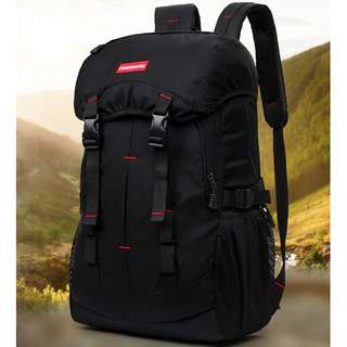 Tas Gunung Outdoor Waterproof - Black