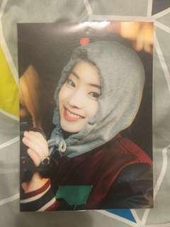 Dahyun twice tv2 postcard