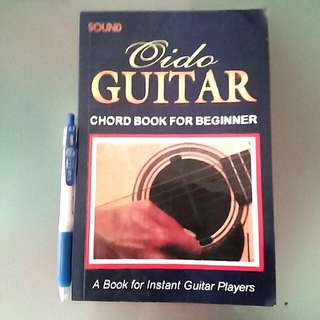 Learn to play Oido guitar chords book for beginners