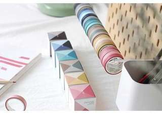 🚚 [In stock] 4 Pcs Washi Tape Classic Colors Pack