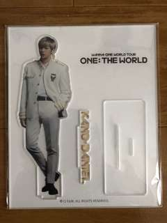 Wanna One: One The World Tour - Kang Daniel official goods acrylic stand