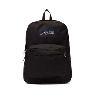 🆕JANSPORT Superbreak Backpack 25L BLACK LIFETIME WARRANTY