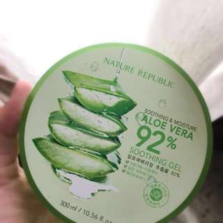 Nature Republic Soothing & Moisture 92% Aloe Vera
