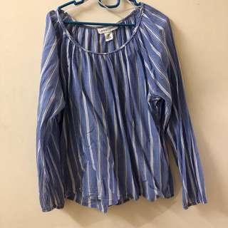 Stripe blouse / top