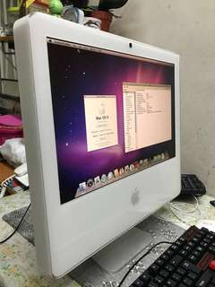 iMac 17 inch Late 2006 (Apple's first Core 2 Duo iMac)