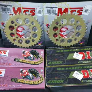 Sprocket & Chain Set