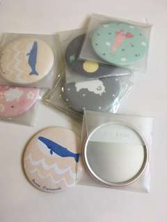 Pocket Round Mirror
