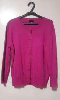 Nine West Pink Cardigan