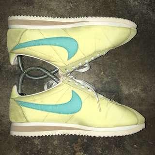 Nike Cortez Nylon Light Yellow/Blue