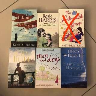 Brand New English Novels RM10 Each