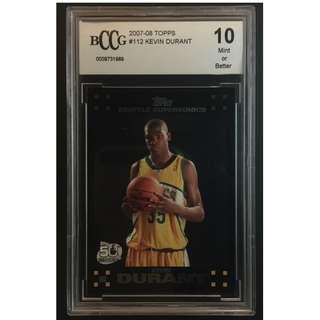 Kevin Durant Rookie Card 2007-08 Original Basketball Card