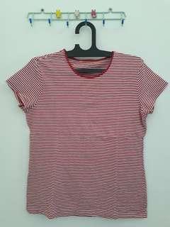T-shirt Giordano stripe original