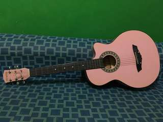 Girly Pink Guitar