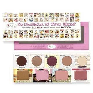 🚚 THE BALM VOLUME 2 PALETTE