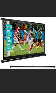 [PRICE REDUCED!!] Mini Table Top Projection Screen