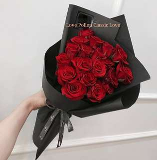 Love Pollen Classic Rose Bouquet