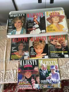 'Majesty' Magazines