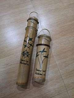 Bamboo alkansya