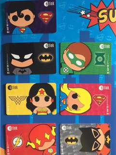 Limited edition brand new DC Comics Superheroes Design Set Of 10 Cards With Nice Folder For $145
