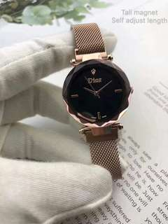 Dior watch with magnet closure