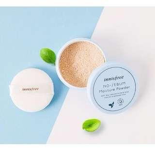 🚚 Innisfree no sebum moisture powder