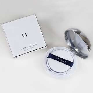 Missha M Magic Cushion 8806185724913 No. 21 Light Beige Original Korean Cosmetics