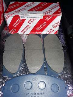 Toyota Parts Brake Pad ( Japan ), Air filter, Fuel filter, Cabin Filter ( charcoal type )