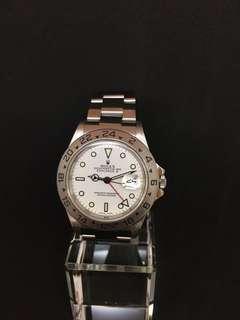 Rolex 16570 Explorer 2 白面