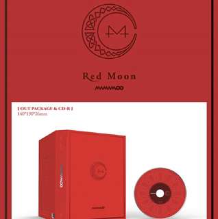 [PREORDER] MAMAMOO - 7th Mini Album Red Moon