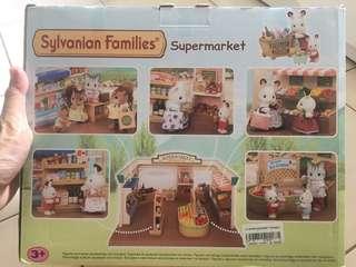 Sylvanian supermarket (super rare)