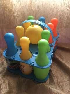 Bowling 🎳 toy set