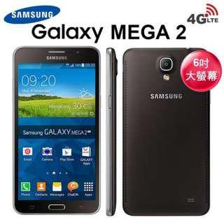"BRAND NEW SAMSUNG GALAXY MEGA 2 6"" BIG SCREEN 4G-LTE"