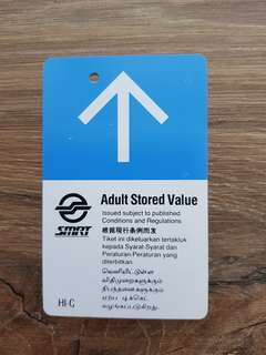 SMRT Adult Stored Value Card